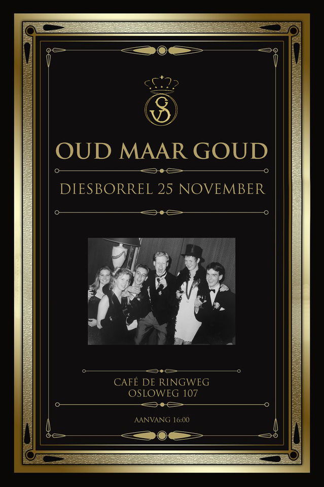 Oud-ledenborrel 25 november 2016