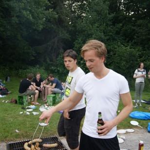 Afsluitende BBQ Hoornse plas